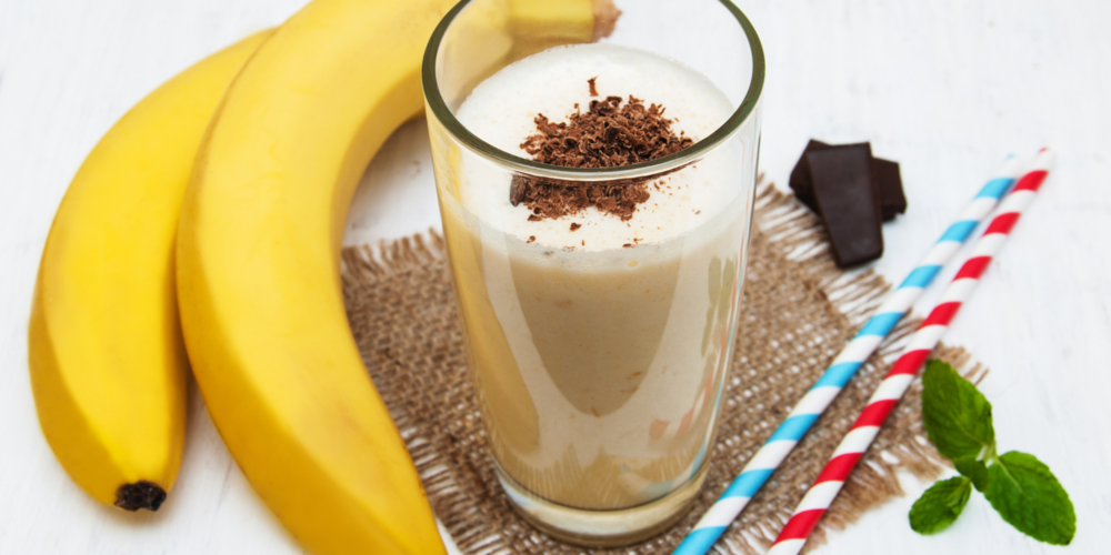 Post Workout Chocolate Banana Smoothie Recipe