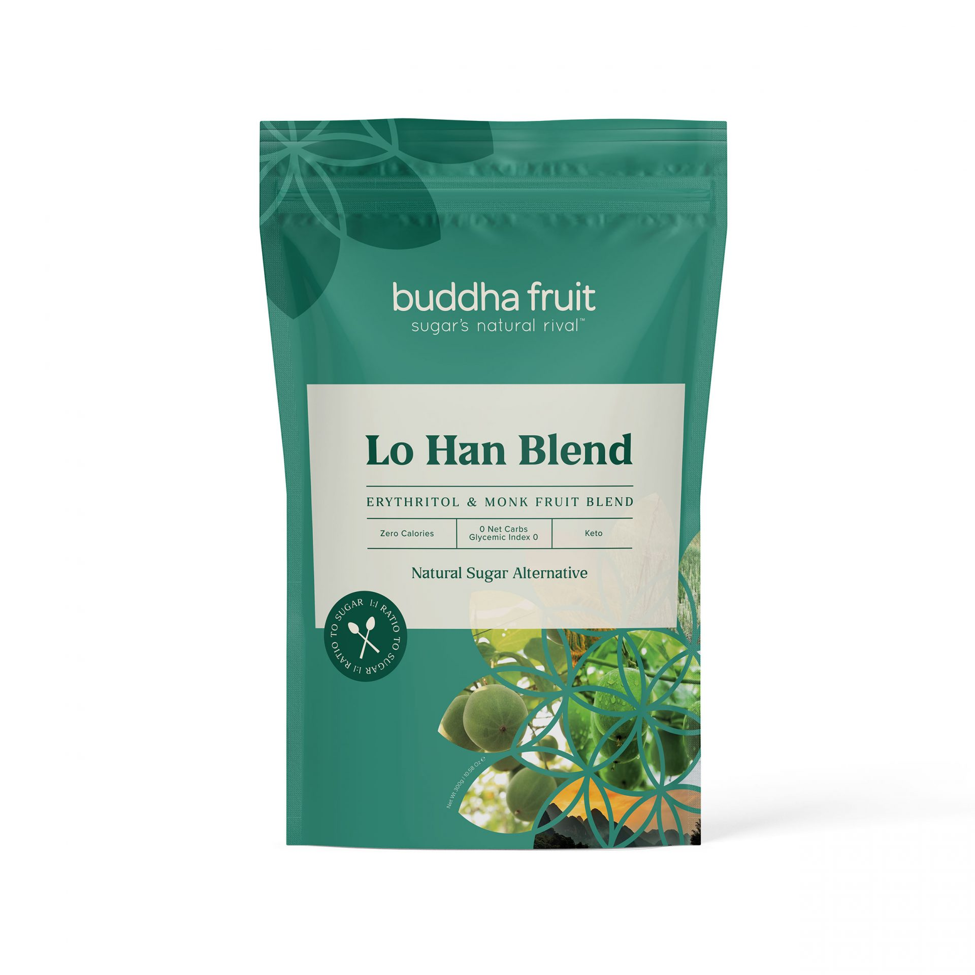 lo han blend erythritol and monk fruit