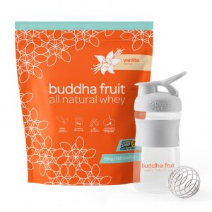 Natural Whey with blenderbottle
